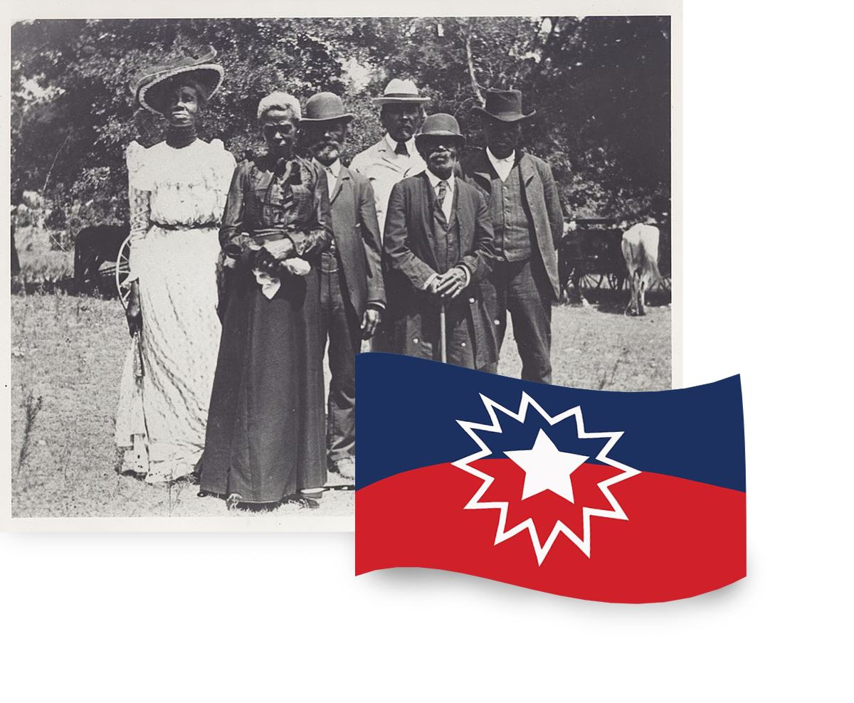 Photo from a Juneteenth celebration in 1905. Credit: Wikimedia Commons